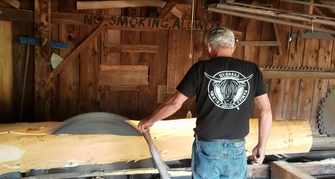 Hubbell Family Farm Sawmill